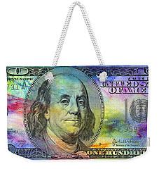 Abstract Ben Weekender Tote Bag