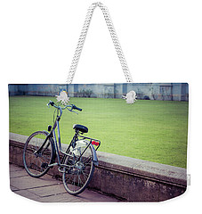 Abstract Bike Weekender Tote Bag by David Warrington