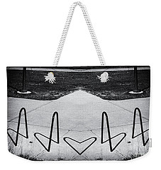 Abstract Bike Rack Weekender Tote Bag