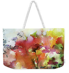 Abstract Bird Migration Autumn Tree Tops Weekender Tote Bag