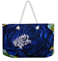 Abstract Blue Weekender Tote Bag