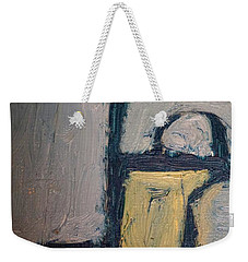 Abstract Blue Shapes Weekender Tote Bag