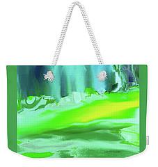 Abstract - Blue Woods Weekender Tote Bag by Lenore Senior