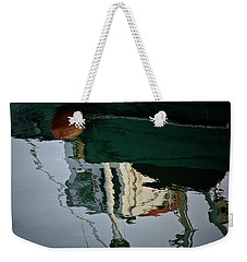 Abstract Boat Reflection II Weekender Tote Bag