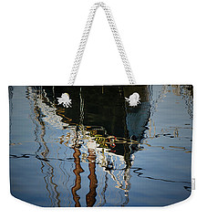 Abstract Boat Reflection IIi Weekender Tote Bag