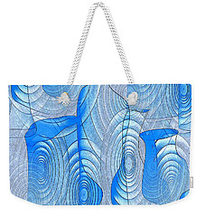 Abstract Bottles Weekender Tote Bag