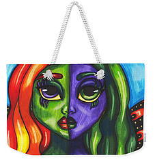 Abstract Butterfly Fairy Girl Weekender Tote Bag