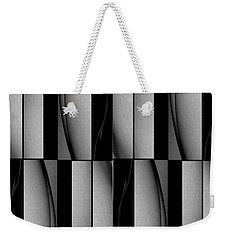 Weekender Tote Bag featuring the photograph Abstract Card Design by Jack Dillhunt