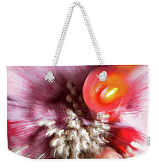 Weekender Tote Bag featuring the photograph Abstract Christmas 4 by Rebecca Cozart