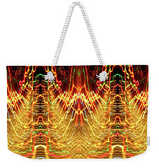 Abstract Christmas Lights #175 Weekender Tote Bag
