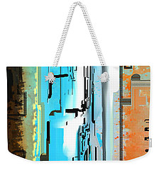 Abstract City Downtown Weekender Tote Bag