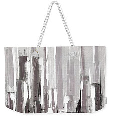 Abstract Cityscape Painting - 1 Weekender Tote Bag
