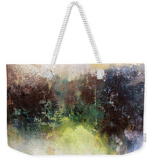 Abstract Contemporary Art Weekender Tote Bag by Patricia Lintner