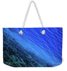 Abstract Crater Lake Blue Water Weekender Tote Bag