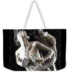 Abstract Digital Artwork Of A Couple Making Love Weekender Tote Bag