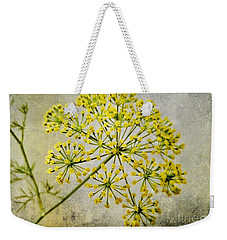 Attractive Dill Blossom  Weekender Tote Bag