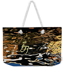 Abstract Dock Reflections II Color Sq Weekender Tote Bag