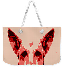 Abstract Dog Contours Weekender Tote Bag