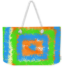 Abstract Drama Weekender Tote Bag