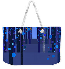 Abstract Dreamscape - Blues Weekender Tote Bag