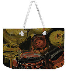 Abstract Drums Weekender Tote Bag