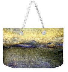 Weekender Tote Bag featuring the painting Abstract Dunes 3.0 by Michelle Calkins