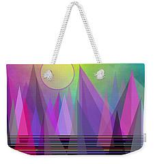 Abstract Elevation Weekender Tote Bag by Kathleen Sartoris