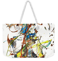Weekender Tote Bag featuring the painting Abstract Expressionism Painting Series 1040.050812 by Kris Haas