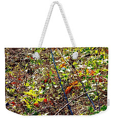 Abstract Fall Thicket Weekender Tote Bag