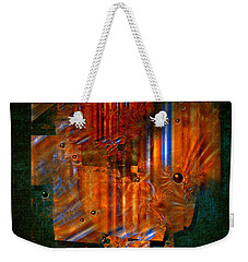 Abstract Fields Weekender Tote Bag