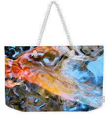 Abstract Fish Art - Fairy Tail Weekender Tote Bag by Sharon Cummings