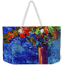 Abstract Floral 2 Weekender Tote Bag