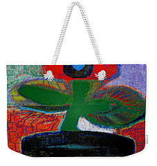 Abstract Floral Art 108 Weekender Tote Bag