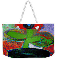 Abstract Floral Art 109 Weekender Tote Bag