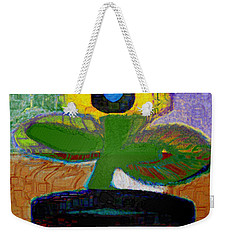Abstract Floral Art 112 Weekender Tote Bag