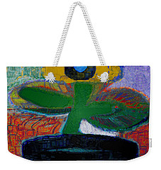 Abstract Floral Art 115 Weekender Tote Bag