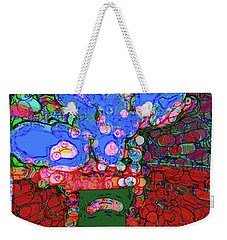 Abstract Floral Art 146 Weekender Tote Bag
