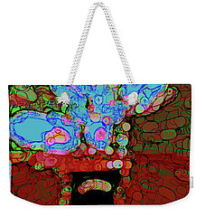 Abstract Floral Art 152 Weekender Tote Bag