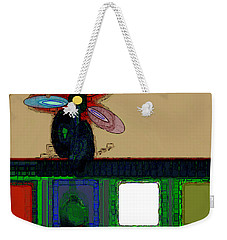 Abstract Floral Art 167 Weekender Tote Bag