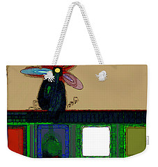 Abstract Floral Art 168 Weekender Tote Bag