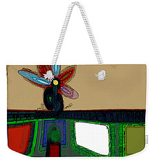 Abstract Floral Art 170 Weekender Tote Bag