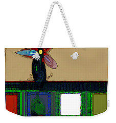 Abstract Floral Art 175 Weekender Tote Bag