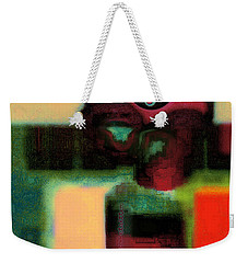 Abstract Floral Art 183 Weekender Tote Bag