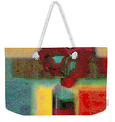 Abstract Floral Art 197 Weekender Tote Bag