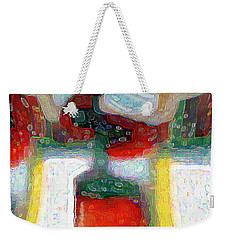Abstract Floral Art 208 Weekender Tote Bag
