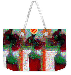 Abstract Floral Art 211 Weekender Tote Bag
