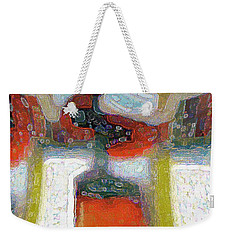 Abstract Floral Art 229 Weekender Tote Bag