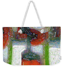 Abstract Floral Art 231 Weekender Tote Bag