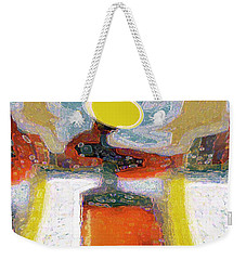 Abstract Floral Art 233 Weekender Tote Bag