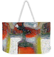 Abstract Floral Art 234 Weekender Tote Bag